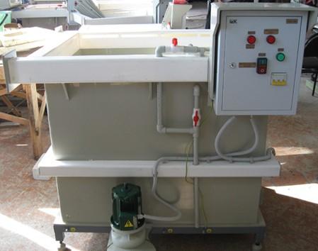УДЭ-02 - установка для приготовления и дозирования щелочного электролита