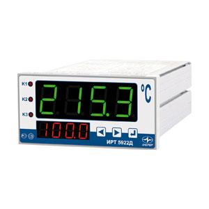 Измерители-регуляторы технологические ИРТ 5922, ИРТ 5922М, ИРТ 5922Д, 1 канал