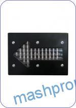 Указатель стрелочный светодиодный направления движения поезда приближающегося к ж/д переезду