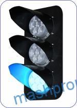 Головки мачтового светофора «Метро» со светодиодными светооптическими системами (ССС) НКМР.676636.101, НКМР.676636.102, НКМР.676636.103, НКМР.676636.104