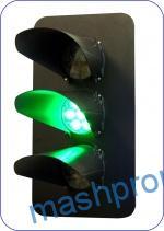 Головка мачтового светофора трехзначная со светодиодными светооптическими системами (ССС) 17758-00-00/01
