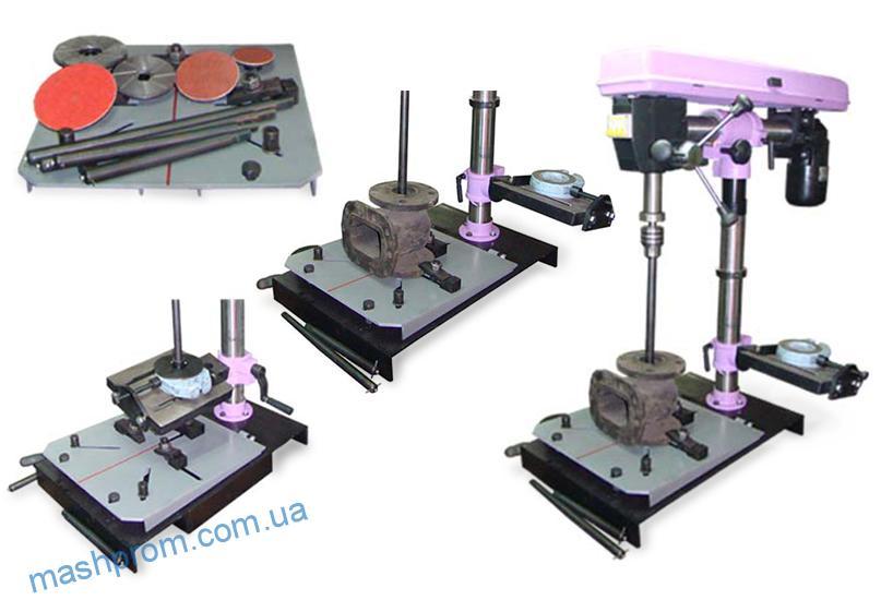 Устройство для шлифования и притирки уплотнений арматуры УШП
