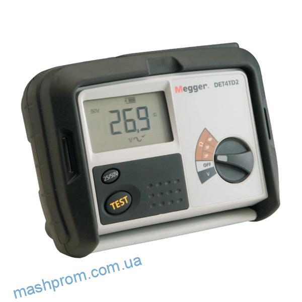 Измеритель сопротивления заземления и удельного сопротивления грунта DET4TD2