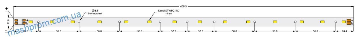 Cветодиодные модули Серия – SEOUL SEMICONDUCTOR STW8Q14C, STW8Q14D