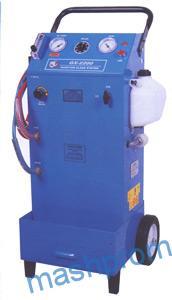 Одноконтурная установка с вакууметром для промывки топливных систем GX - 2200