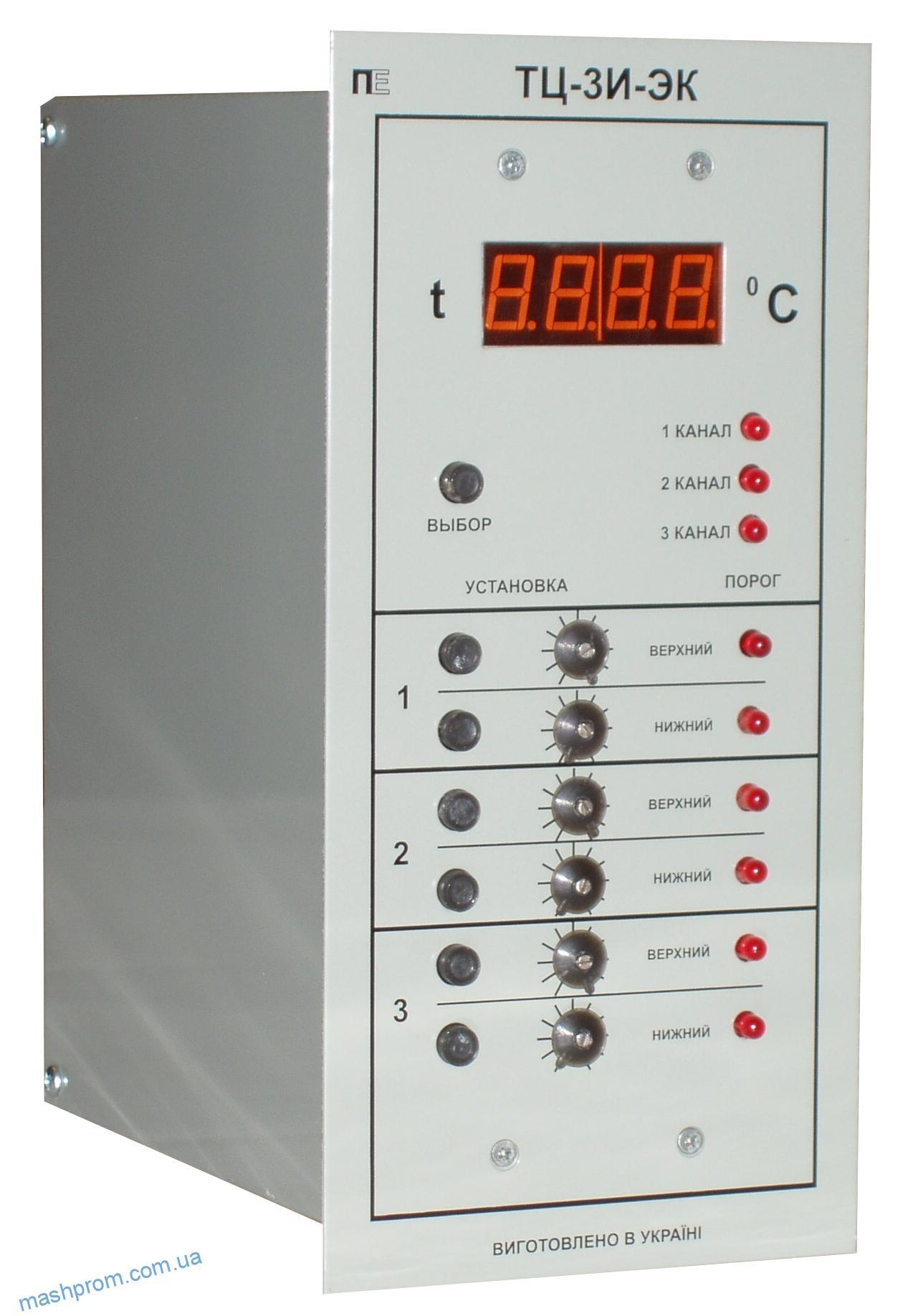 Регулятор температуры цифровой электроконтактный ТЦ-3И ЭК (Аналог КМ 140; ЭРА; ТУДЕ; ТГП; ТКП)