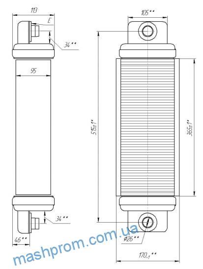 Секция радиатора 7317.300