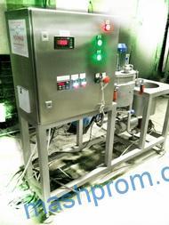 Установка для термической обработки продуктов с измельчением и перемешиванием марки П8-СИ-10 лабораторная