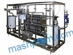 Пластинчатая автоматизированная пастеризационно-охладительная установка типа ОКЛ-10 (10 000л|ч)