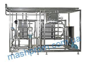 Пластинчатая автоматизированная пастеризационно-охладительная установка типа ОП2-У-15(15 000л|ч)