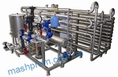 Комбинированные пастеризационно-охладительные установки П8-ОПО-2.5(комби)