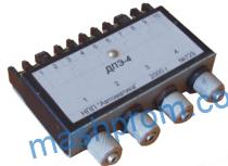 Четырёхканальный пневмоэлектрический дискретный преобразователь ДПЭ-4