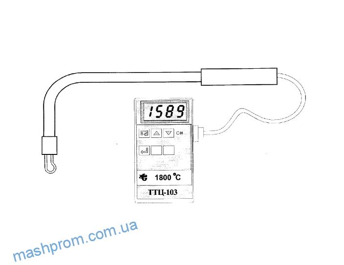 Микропроцессорный термоэлектрический термометр ТТЦ-103