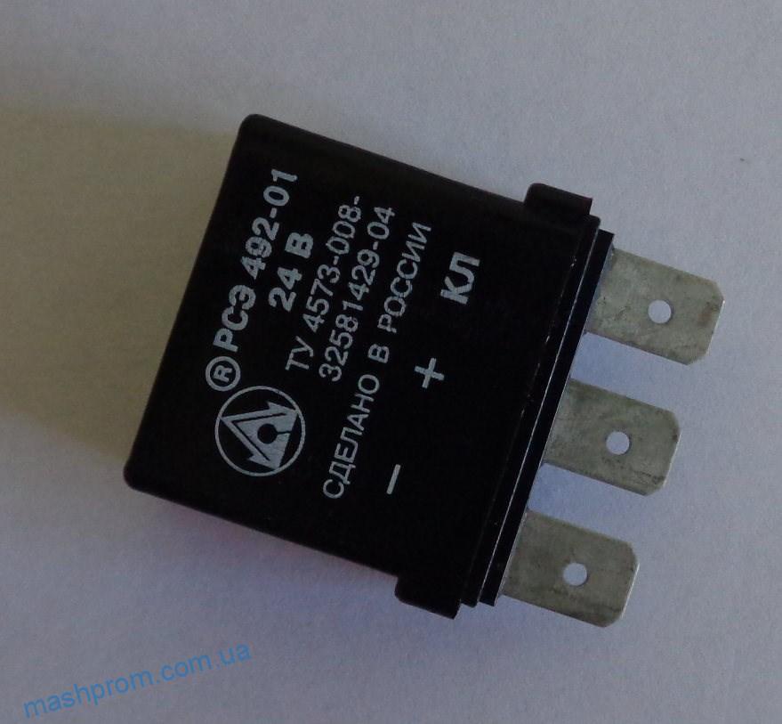 Прерыватель контрольной лампы стояночного тормоза РСЭ 492-01 (24В)